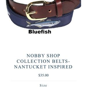 Other - Nantucket inspired fish belt from the Nobby Shop